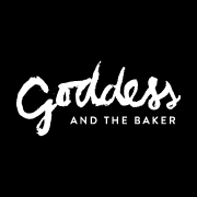 This is the restaurant logo for Goddess and the Baker
