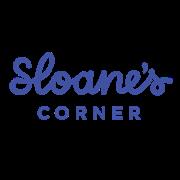 This is the restaurant logo for Sloane's Corner