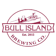 This is the restaurant logo for Bull Island Brewing Company