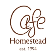 This is the restaurant logo for Cafe Homestead