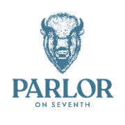This is the restaurant logo for Parlor On 7th