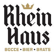 This is the restaurant logo for Rhein Haus Tacoma