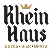 This is the restaurant logo for Rhein Haus Denver
