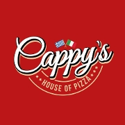 This is the restaurant logo for Cappy's House of Pizza