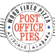 This is the restaurant logo for Post Office Pies