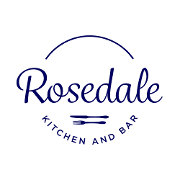 This is the restaurant logo for Rosedale Kitchen and Bar