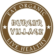 This is the restaurant logo for Burger Village