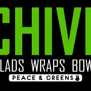 This is the restaurant logo for CHIVE