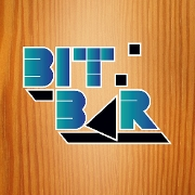 This is the restaurant logo for Bit Bar Salem