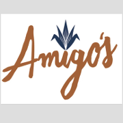 This is the restaurant logo for Amigo's Mexican Kitchen + Tequila Bar