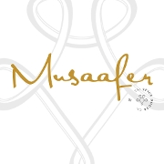 This is the restaurant logo for Musaafer