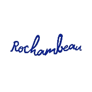This is the restaurant logo for Rochambeau
