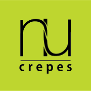 This is the restaurant logo for Nu Crepes