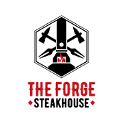 This is the restaurant logo for The Forge Steakhouse