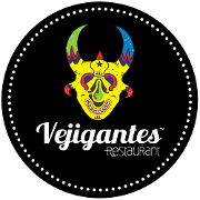 This is the restaurant logo for Vejigantes Restaurant