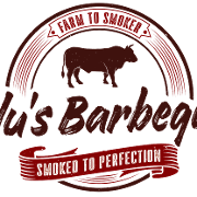 This is the restaurant logo for Blu's Barbeque