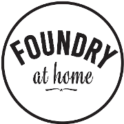 This is the restaurant logo for Foundry On Elm