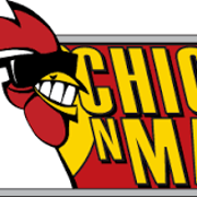 This is the restaurant logo for Chick N Max