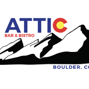 This is the restaurant logo for ATTIC BAR & BISTRO
