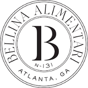 This is the restaurant logo for Bellina Alimentari