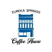 This is the restaurant logo for Eureka Springs Coffee House