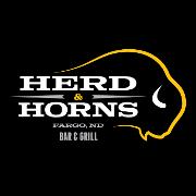 This is the restaurant logo for Herd & Horns