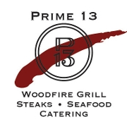 This is the restaurant logo for Prime 13