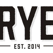 This is the restaurant logo for RYE Restaurant & Lounge
