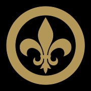 This is the restaurant logo for Lil Bit Nola