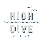 This is the restaurant logo for High Dive