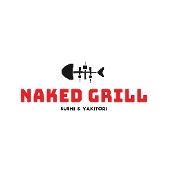 This is the restaurant logo for Naked Grill Sushi & Yakitori