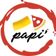 This is the restaurant logo for Papi'