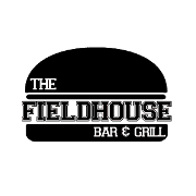 This is the restaurant logo for The Fieldhouse Bar and Grill