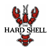 This is the restaurant logo for The Hard Shell