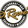 Restaurant logo for D. Rowe's Restaurant & Bar