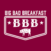 This is the restaurant logo for Big Bad Breakfast