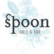 This is the restaurant logo for Spoon Table & Bar