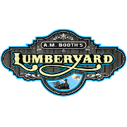 This is the restaurant logo for A.M. Booth's Lumberyard