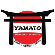 This is the restaurant logo for Yamato Japanese Steakhouse & Sushi