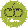 This is the restaurant logo for Colleen's