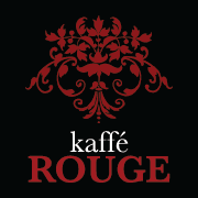 This is the restaurant logo for Kaffe Rouge