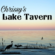 This is the restaurant logo for Chrissy's Lake Tavern