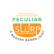This is the restaurant logo for Peculiar Slurp