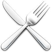 This is the restaurant logo for Revolve Restaurant