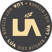 This is the restaurant logo for Lúa Viet Kitchen