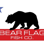 This is the restaurant logo for Bear Flag Fish Company