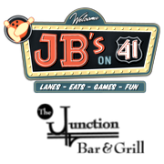 This is the restaurant logo for JB's on 41
