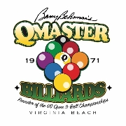 This is the restaurant logo for Q-Master Billiards