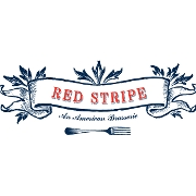 This is the restaurant logo for Red Stripe