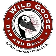 This is the restaurant logo for The Wild Goose